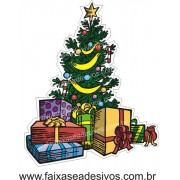 Adesivo Arvore de Natal (P-M-G) 2527