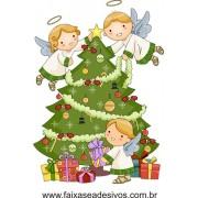 Adesivo Arvore de Natal Infantil - 2533