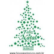 Adesivo Arvore de Natal 1,00 x 0,70m (diversas cores) 2526