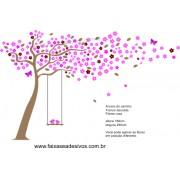 012 - Arvore do Carinho adesivo decorativo 1,80 x 2,50m
