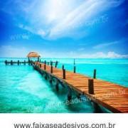 Mar Paraíso  Adesivo Decorativo de parede - vários tamanhos