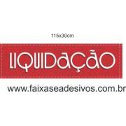 lIQUIDAÇÃO - Estilo linha - 115x30cm