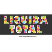 Liquida Total Cores e formas - vários tamanhos