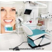 Adesivo Decorativo 100x180cm - Escovando os Dentes
