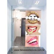 Boca e Brilho Adesivo Decorativo  90x210cm