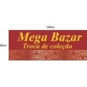 Mega Bazar pequeno 120x50cm