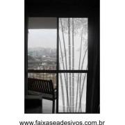 095 VD - Adesivo Jateado para vidro Bambuzinho 210x70
