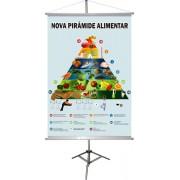 Piramide Alimentar Nova - Banner 1,00x0,70m