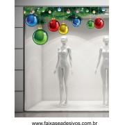 Adesivo Tradicional de Natal 1,50 x 0,70m