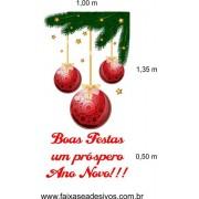 Cantoneira de Natal Estrelado (Comp. e Simples)