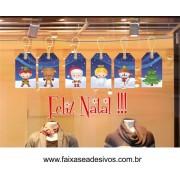 Adesivo Natal Tag Kids 1,50 x 0,70m