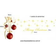 Adesivo Bolas de Natal Fitas Compact
