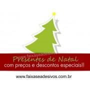 Adesivo Decorativo para Vitrine Natal Tradicional 90 x 60cm