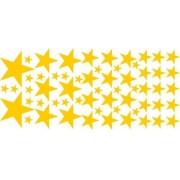 Adesivo Decorativo Estrelas Cartela (M-G)