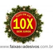 Adesivo Guirlanda 10x - 1,00 x 1,00m
