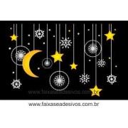 Adesivo Penduricalhos Noite de Natal (M-G)