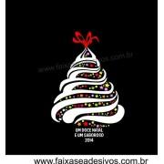 Adesivo Arvore de Natal Doce 1,20 x 0,80m - 2530