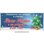 Faixa Mensagem de Natal 2,00 x 0,70m