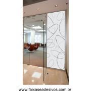 080- Adesivo Decorativo para Vidro Elipses 2,00 x 0,70m