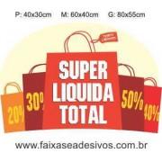 Adesivo Super Liquida Sacolas (P-M-G)