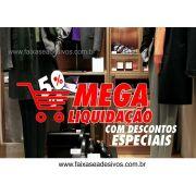 Adesivo Mega Liquida Loja 1,20 x 0,60m