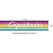 Adesivo Liquidação 14A - Vários Tamanhos