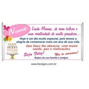 545 -Faixa Aniversário 1,50 x 0,70m Linda