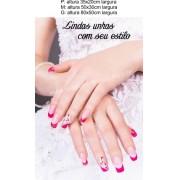 Adesivo Manicure New Unhas Decoradas 14I (P-M-G)