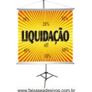 Banner Liquidação 70x70cm