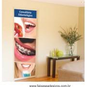Fotos Decorativas Porta Sorriso P01 - Escolha o tipo de Adesivo