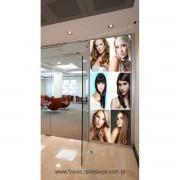 Fotos Decorativas Salão - Porta Cabelos P01 - Escolha o tipo de Adesivo