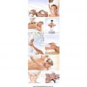 Fotos Decorativas SPA Porta 003 - Escolha o tipo de adesivo - 200x70cm
