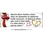 Faixa de Amor 2,00 x 0,70m