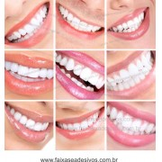 Fotos Decorativas Mosaico Sorriso 011 - Escolha Adesivo ou placa e tamanho