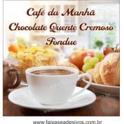 Fotos Decorativas Café 001 - Escolha o tamanho - Adesivo ou placa