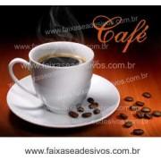 Fotos Decorativas Café 003 - Escolha Adesivo ou placa 50x60cm