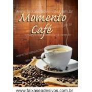 Fotos Decorativas Café 004 - Escolha Adesivo ou placa 50x70cm