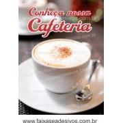 Fotos Decorativas Café 005 - Escolha Adesivo ou placa 60x80cm