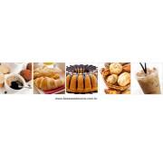 Fotos Decorativas Café 009 - Adesivo 40cm cada foto kit com 5 fotos
