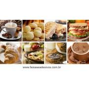 Fotos Decorativas Café 010 - Mosaico adesivo 60x120cm