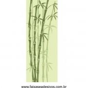 081 VD - Adesivo Jateado para vidro Bamboo 210x70cm