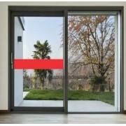 404 - Faixa de segurança para vidro com 20cm - Escolha a cor