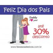 Adesivo Dia dos Pais P218 - Escolha as opções