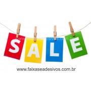 Adesivo de Vitrine - Varal Sale - Varios Tamanhos S902