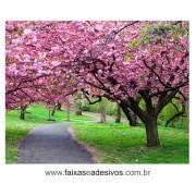 Vitrine Primavera Lona Decorativa 150x200