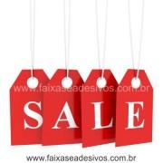 Adesivo de Vitrine - Tag Sale - Varios Tamanhos - S903