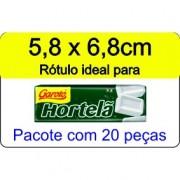 - Rótulo Drops de Hortelã  - Escolha o tipo de material - R603