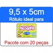 - Rótulo Paçoquita - Escolha o tipo de material - R604
