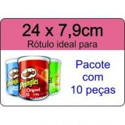 - Rótulo Pringles - Escolha o tipo de material - R607