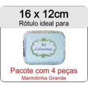 - Rótulo Marmitinha Grande - Escolha o tipo de material - R610